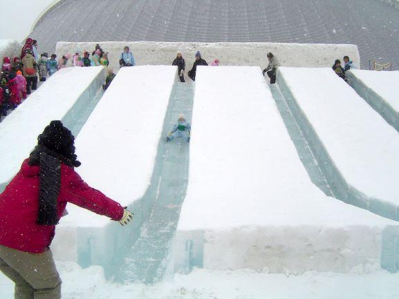つどーむ雪まつり
