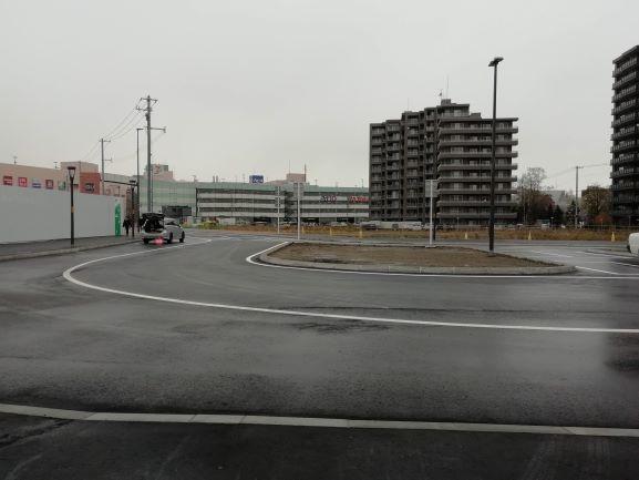 苗穂駅北口広場
